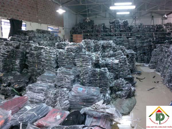 xưởng may ba lô túi xách