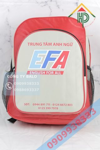 Balo trung tâm anh ngữ English for All