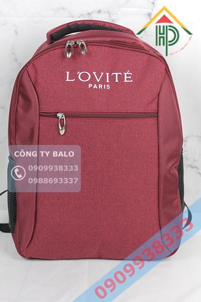 Balo thương hiệu mỹ phẩm L'OVITÉ