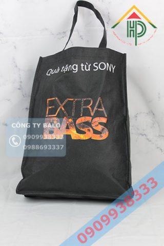 Túi Xách Vải Không dệt Sony Extra bass