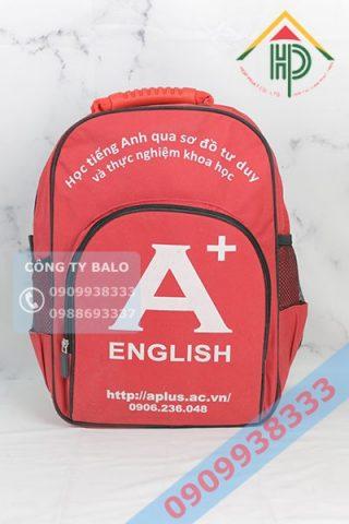 Balo Trung Tâm Anh Ngữ A+ English