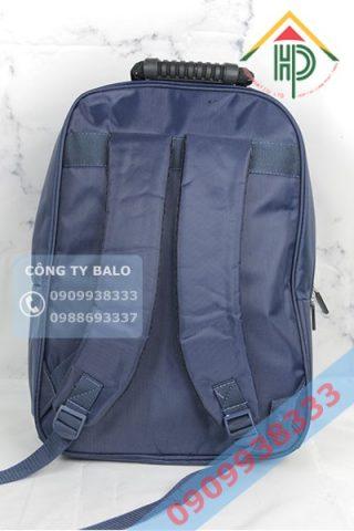 Mặt sau May Balo quảng cáo SIGNAL CO.,LTD