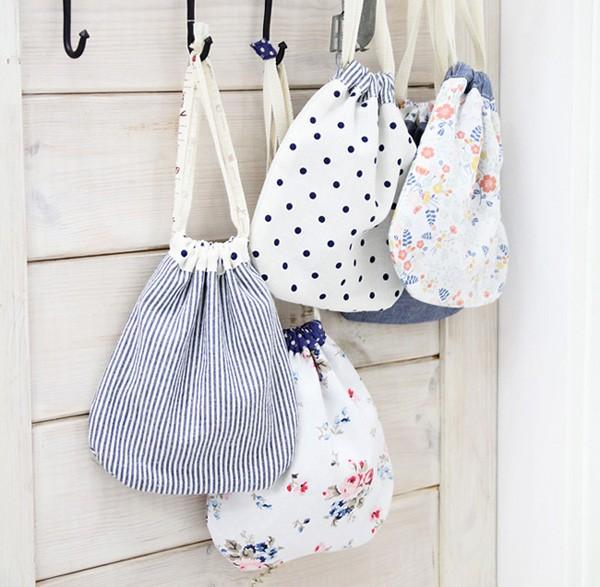 Túi dây rút mini gia vị chính cho một mùa hè năng động