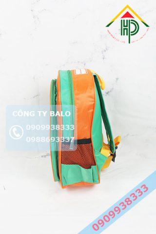 May balo mầm non Bé Yêu Xinh mặt hong
