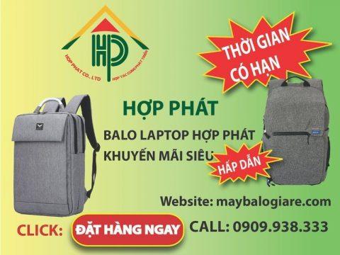 gia công balo laptop cho các thương hiệu