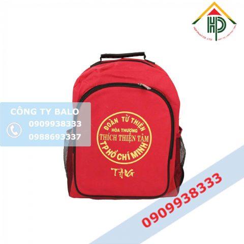 Balo quà tặng từ thiện TPHCM
