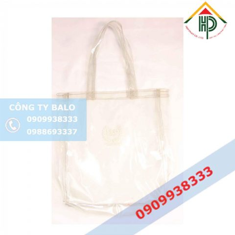 May Túi nhựa trong PVC Hợp Phát
