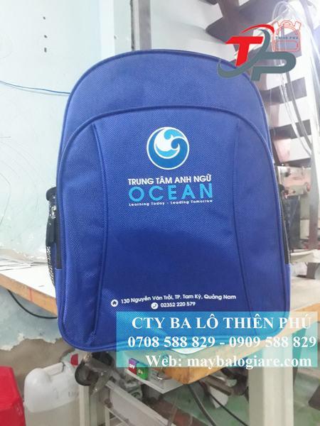 balo Trung tâm anh ngữ OCEAN