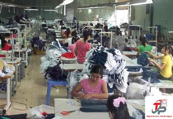 Xưởng may ba lô Thiên Phú